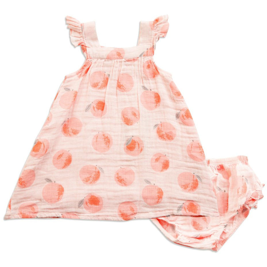 Muslin Sundress - Peachy