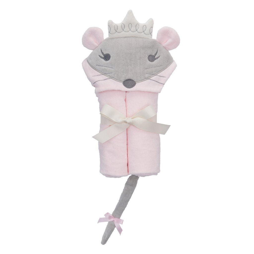 Hooded Bath Wrap - Princess Mousie