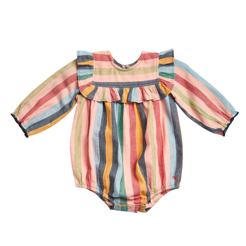 Quinn Bubble - Multi Stripe
