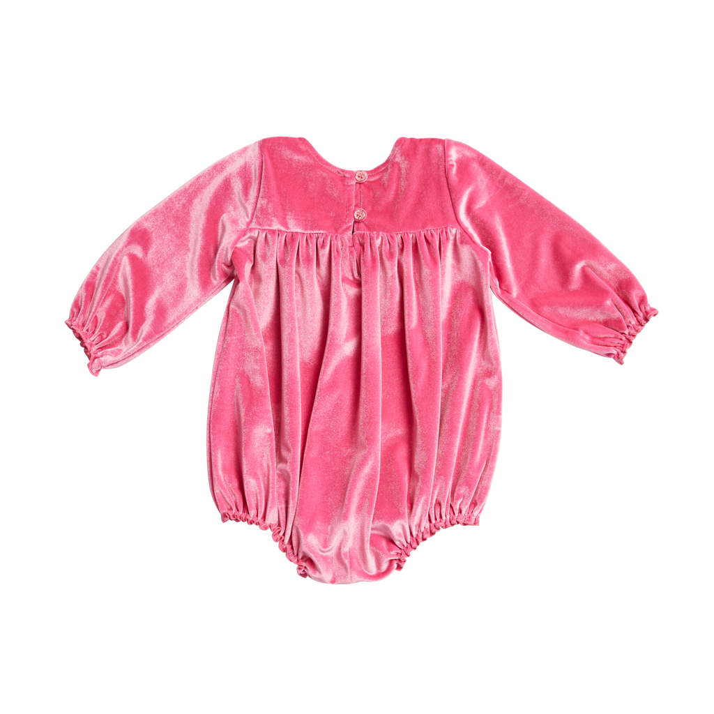 Quinn Bubble - Pink Velour