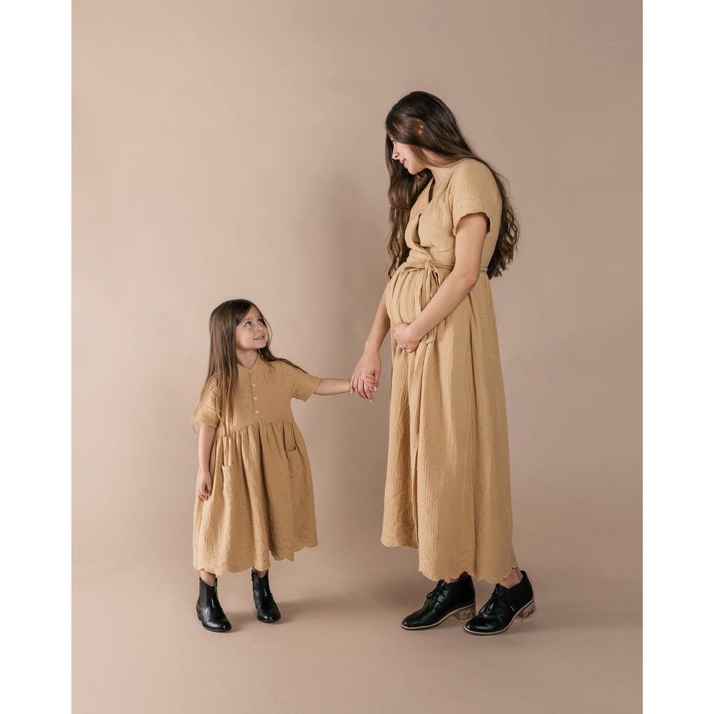 Esme Dress - Honey
