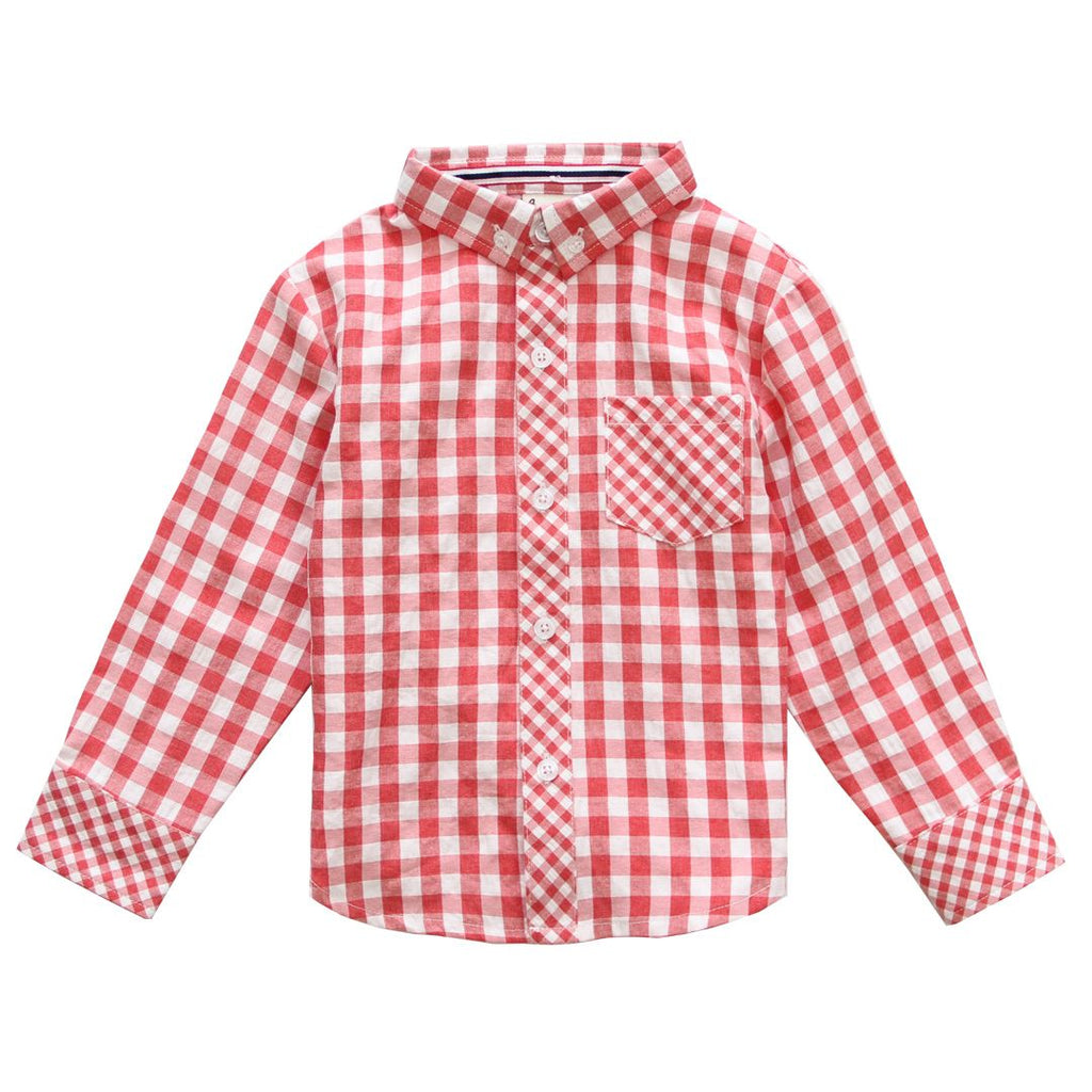 Shirt - Red Gingham