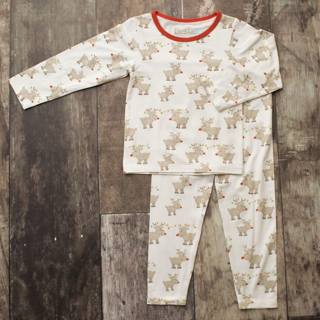 Two Piece Pajamas - Westin's Rad Reindeer