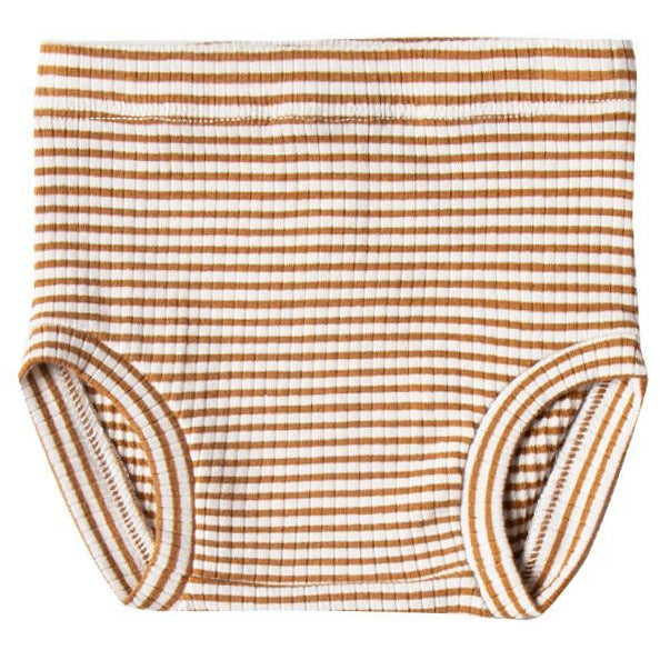 Ribbed Bloomer - Walnut Stripe