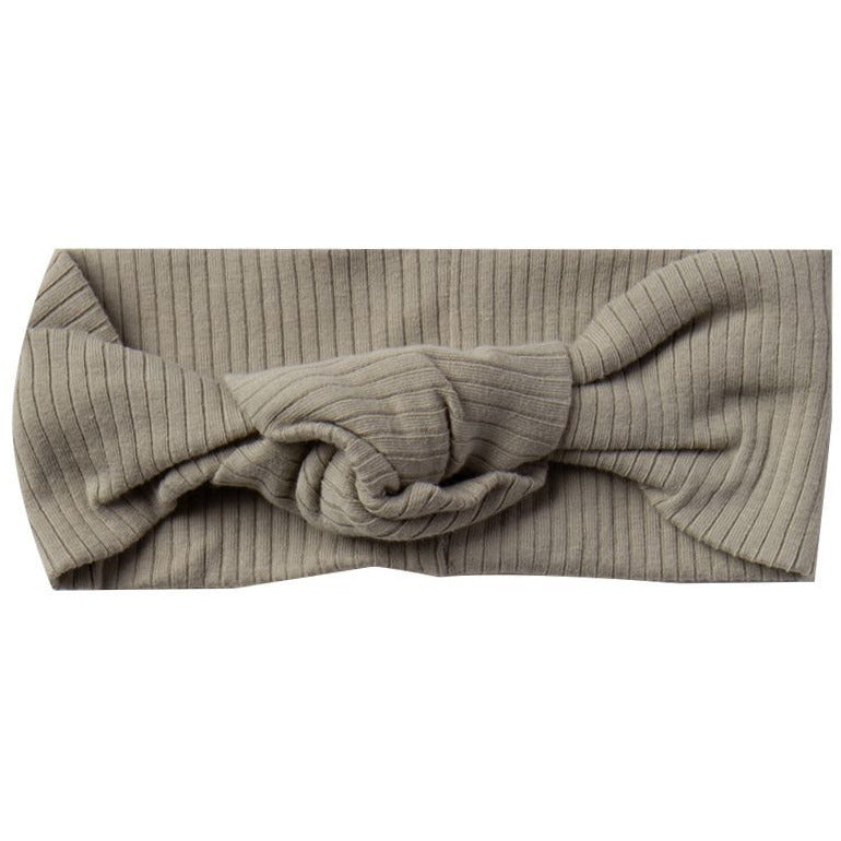 Ribbed Turban - Olive