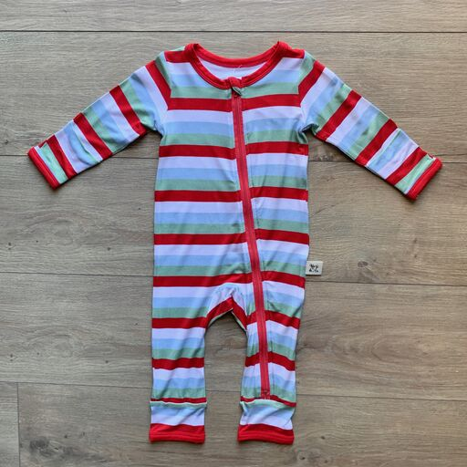 Coveralls - Holly Stripe