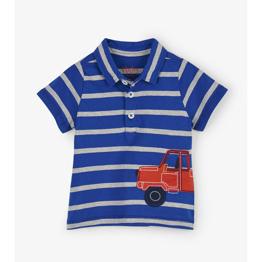 Pick Up Truck Baby Polo Tee