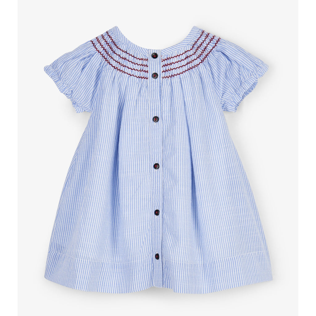 Nautical Stripes Baby Dress