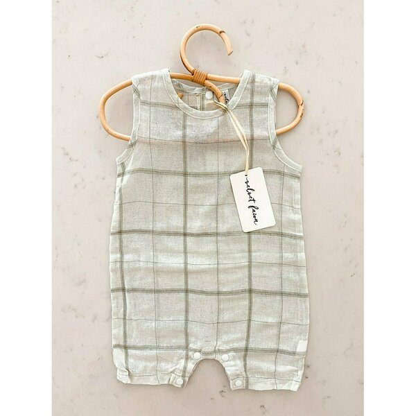 Knox Romper - Salt Water Taffy