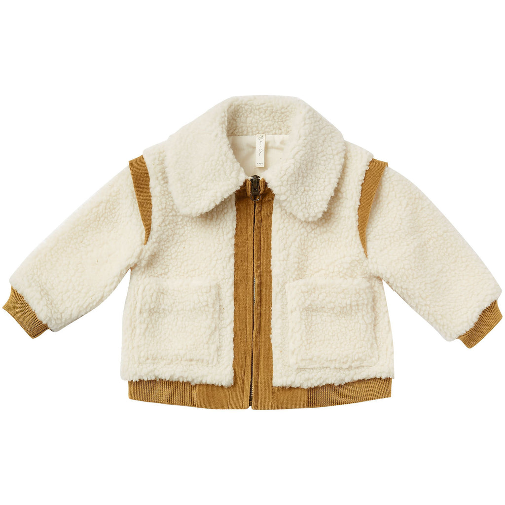 Sherpa Coat - Natural