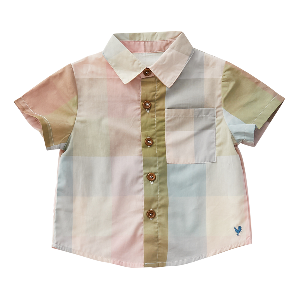 Baby Jack Shirt - Multi Gingham