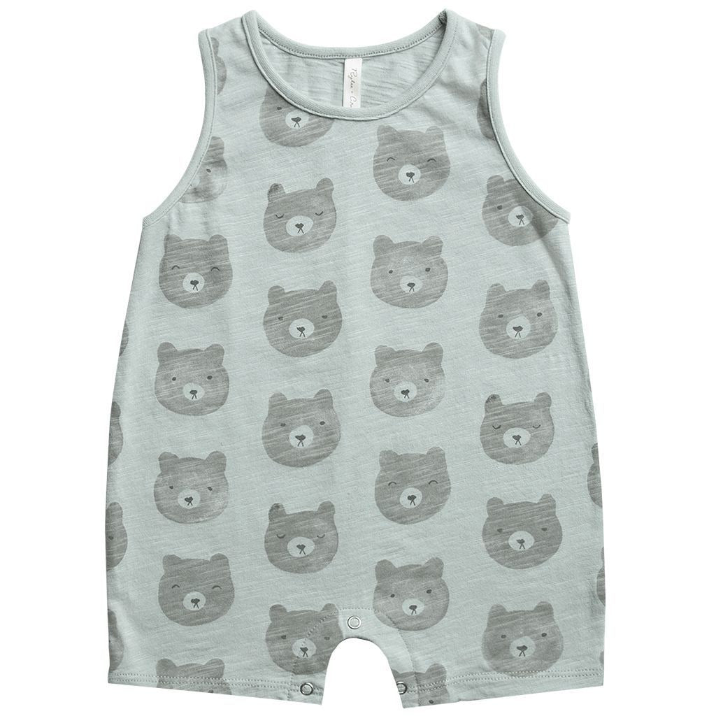 Sleeveless Romper - Bears