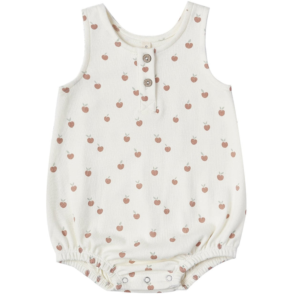 Sleeveless Bubble - Ivory Peach