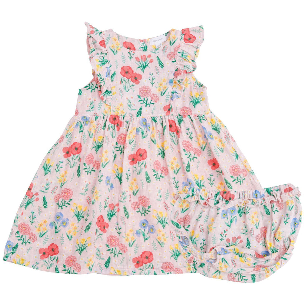 Dress/Diaper Cover - Summer Floral