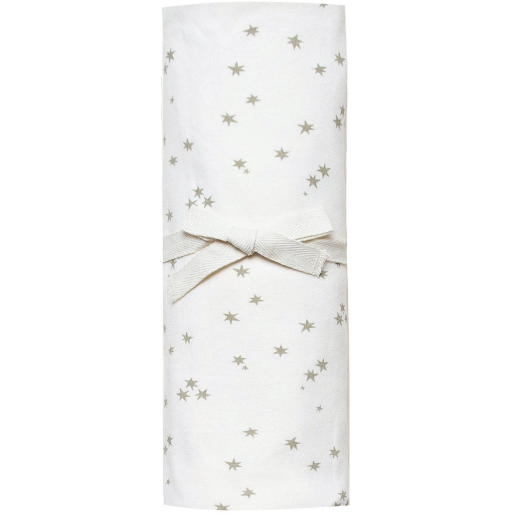 Organic Brush Cotton Swaddle - Ivory