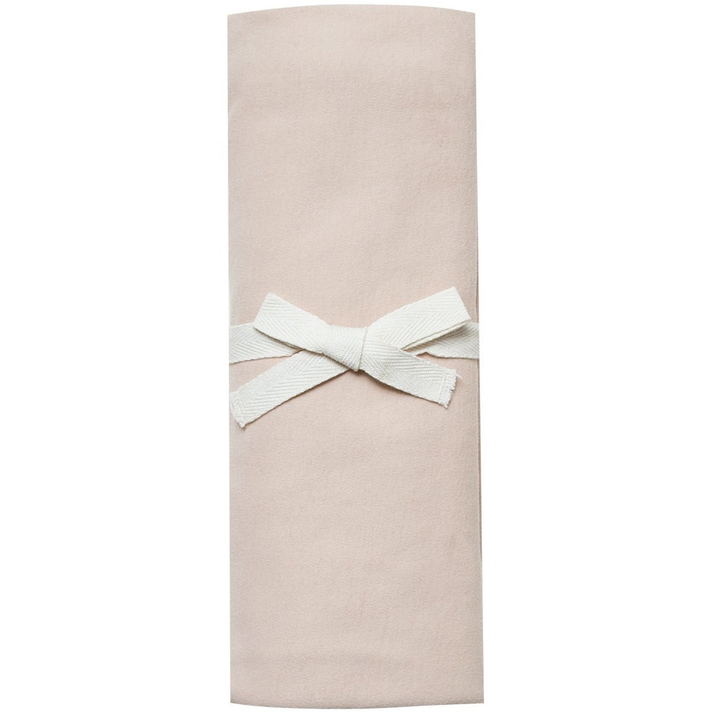 Organic Brush Cotton Swaddle - Rose