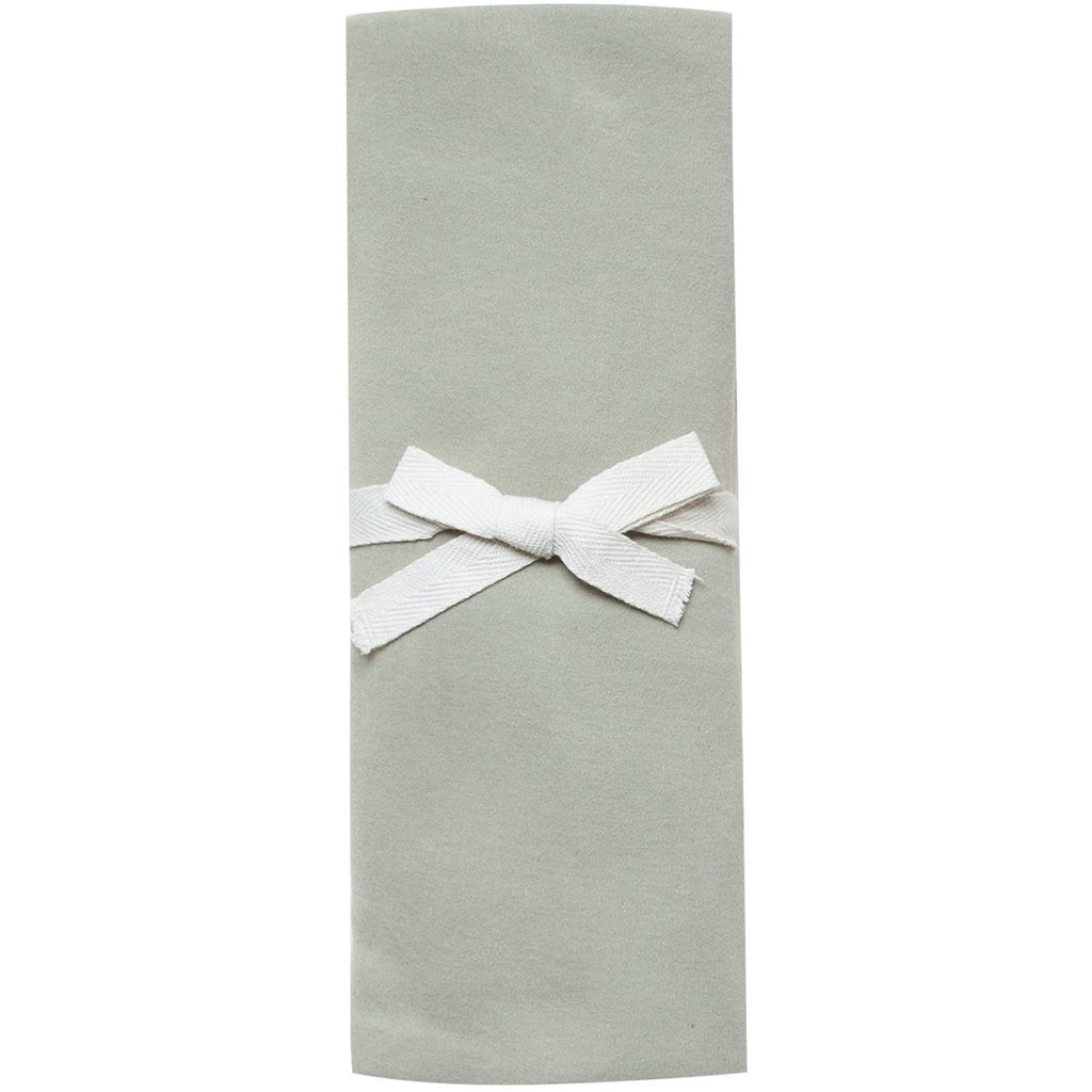 Organic Brush Cotton Swaddle - Sage