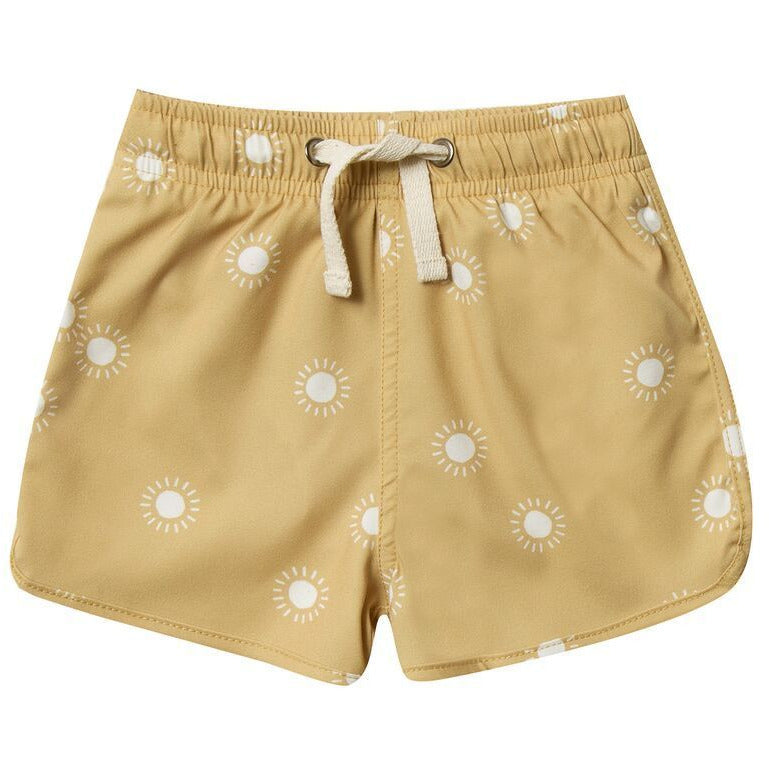 Swim Trunks - Citron Sunburst
