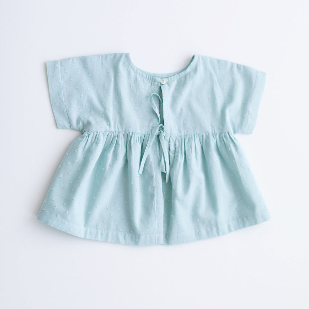 Swing Top - Mint Embroidery
