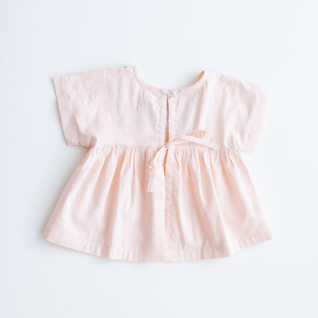 Swing Top - Peach Embroidery