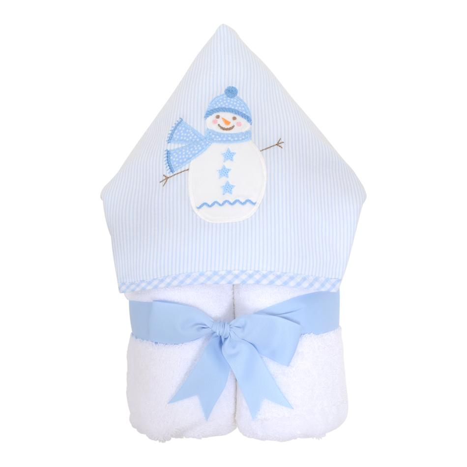 Everykid Towel - Blue Snowman