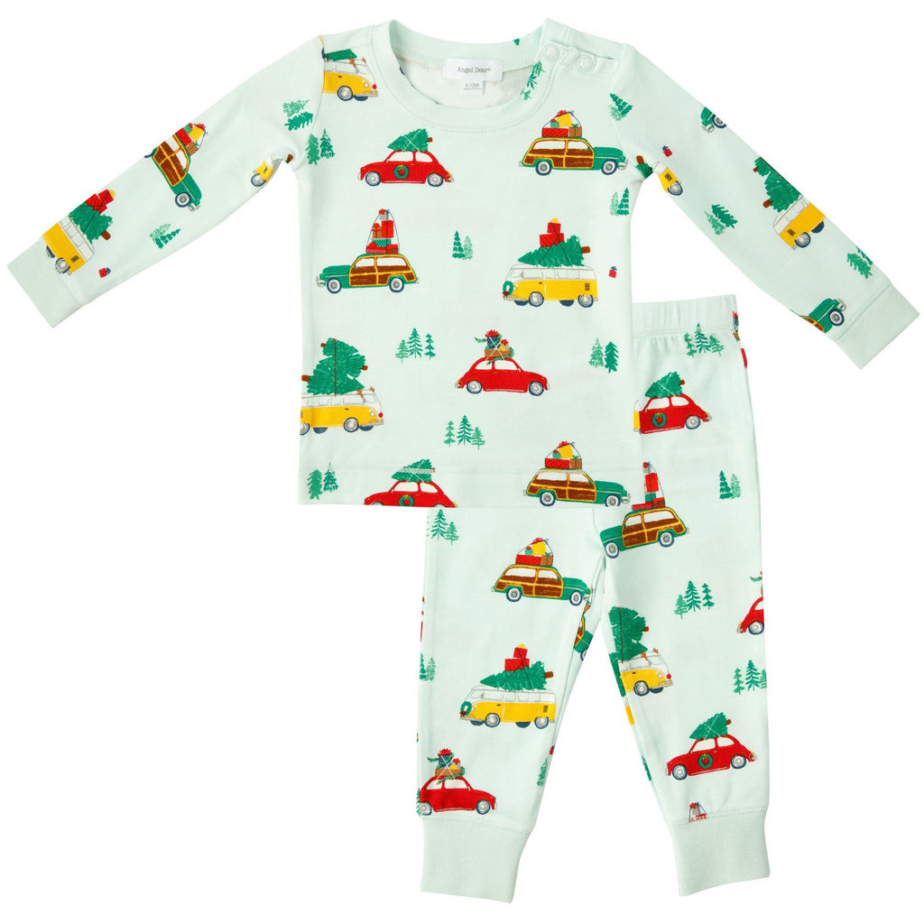 Lounge Wear Set - Trees On Cars