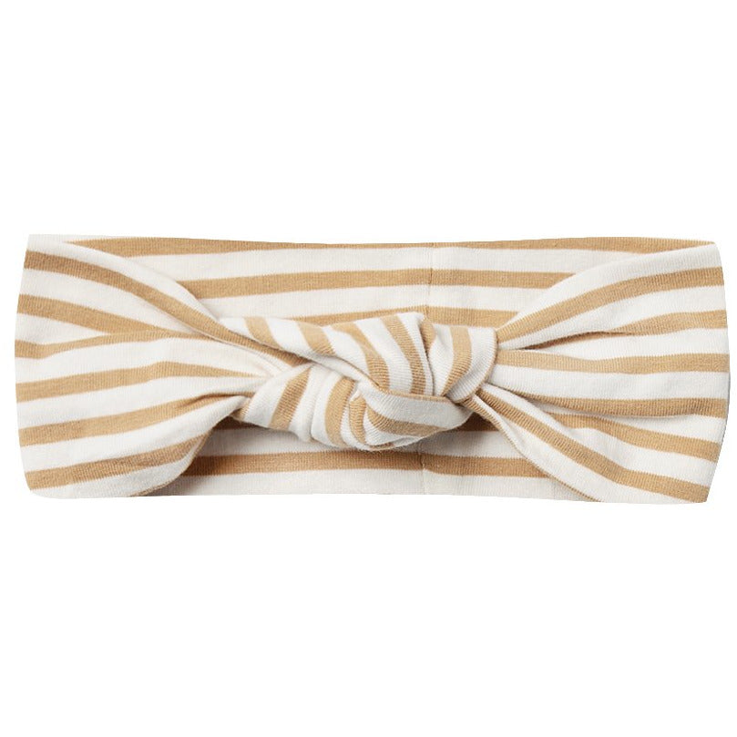 Baby Turban - Honey Stripe