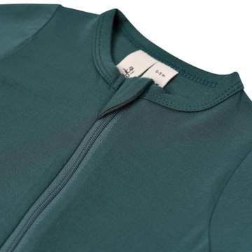 Zippered Footie PJ - Emerald
