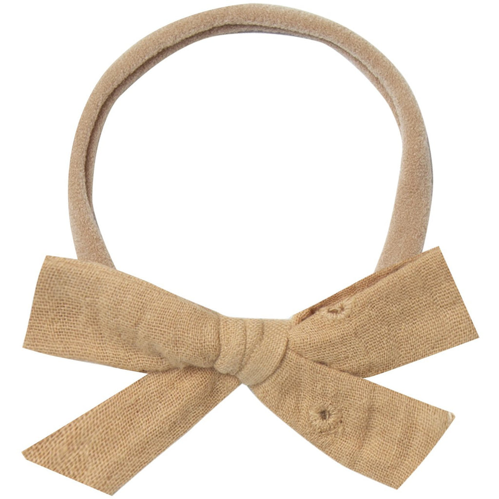 Bow Headband - Honey