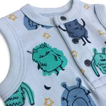 Monsters Tank Romper