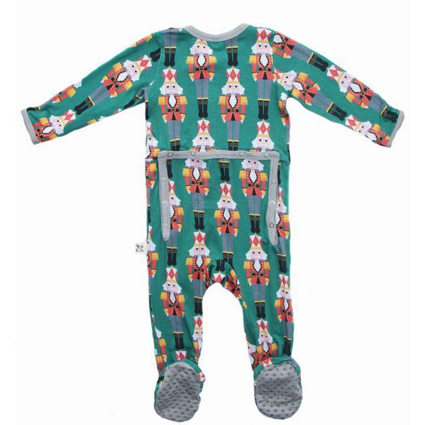 Footie Pajamas - Nutcracker