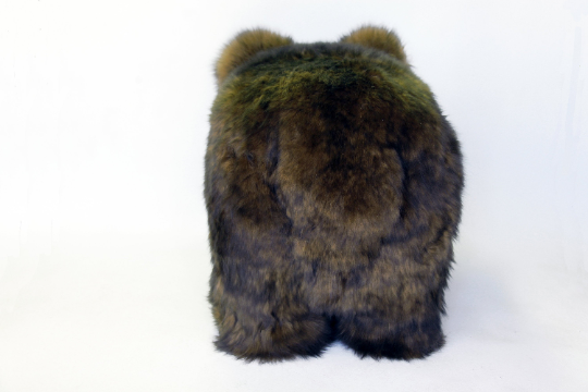 Grizzly Bear Footstool