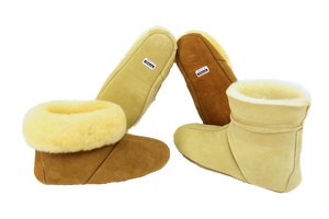 Soft Sole High Top KIDS SLIPPERS