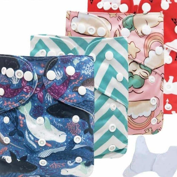 Aware Step Reusable Baby Diapers