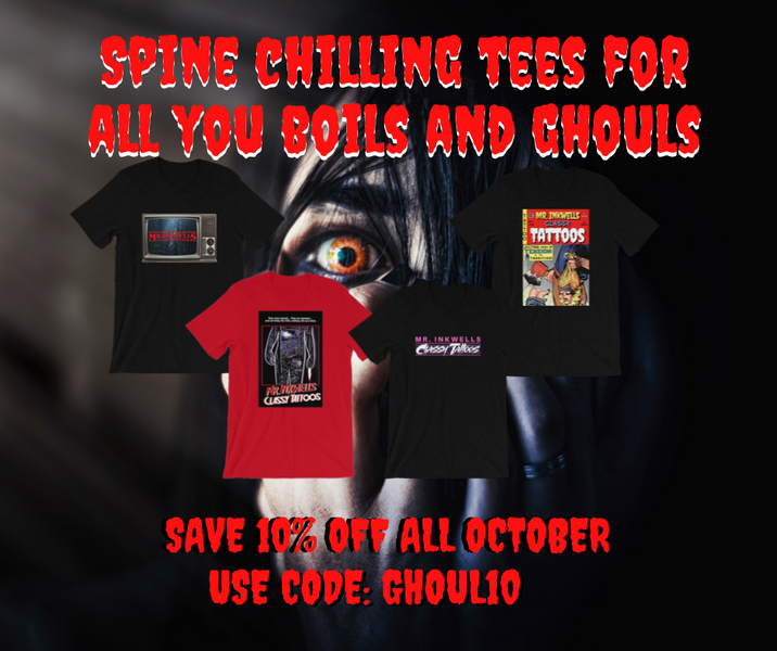 Save 10% and Free Shipping ALL October on Limited Edition Tees