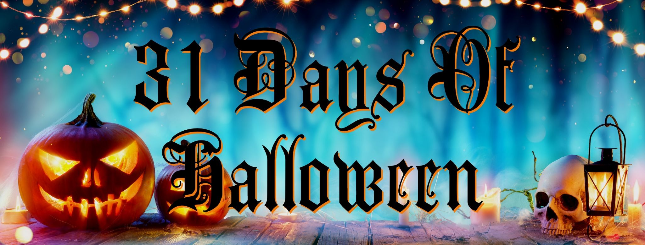 31 Days of HALLOWEEN with Mr. Inkwells