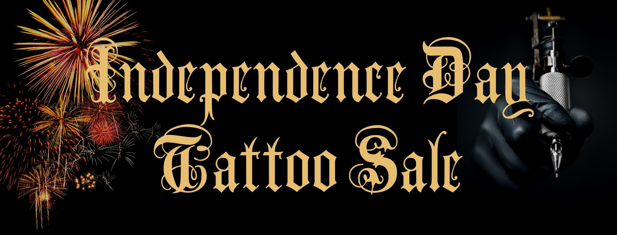 4th of July Traditional Tattoo Sale