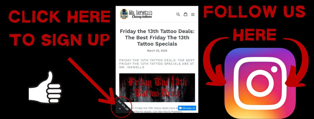 Friday The 13th Beat Tattoo Deals