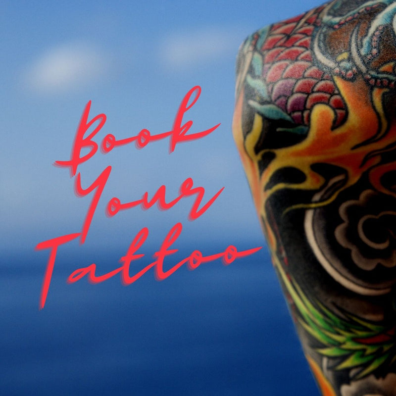 Book your tattoo at Mr. Inkwells Tattoos Californias Top Rated Tattoo Shop