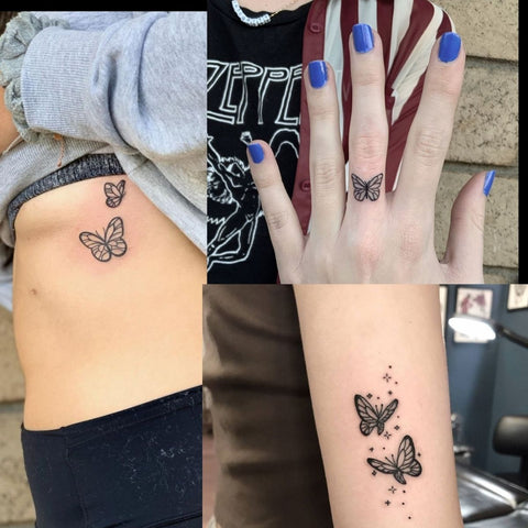 Butterfly Tattoos In Different Locations Best Butterfly Tattoo Ideas