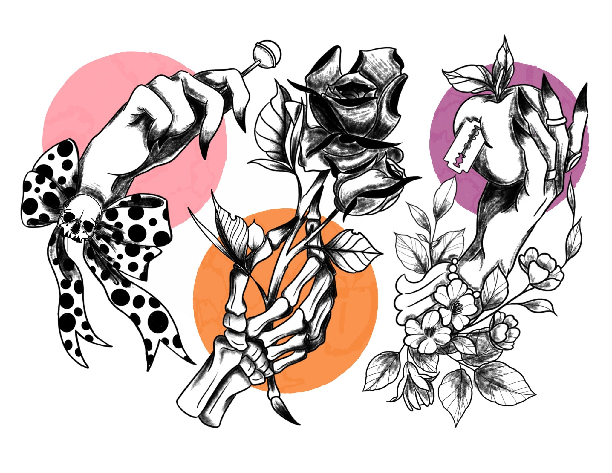 Devons Tattoo Flash