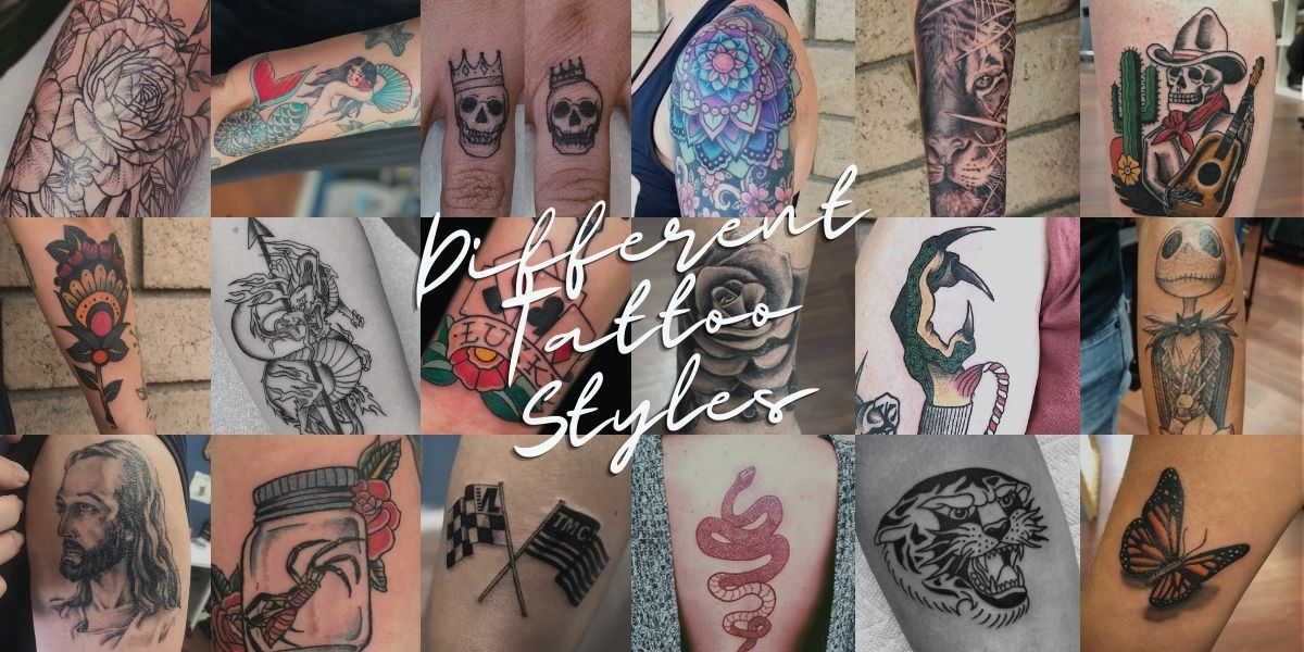 Different Tattoo Styles