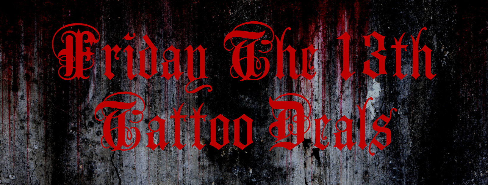 Best Friday The 13th Tattoo Deals