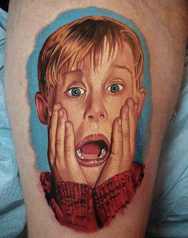 Kevin Home Alone Tattoo Best Christmas Tattoos