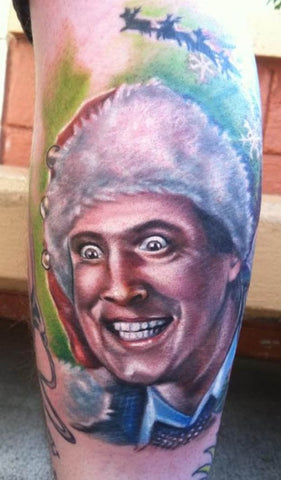 Clark Griswold National Lampoon Christmas Tattoo