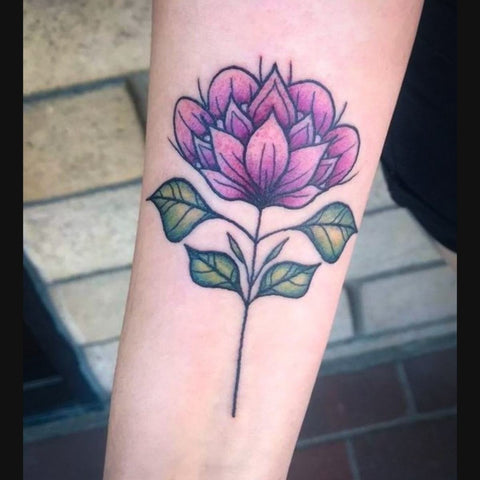 Neo Traditional Rose Tattoo Best Neo Traditional Tattoo Ideas
