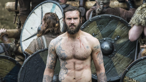 Rollo Vikings TV Show Tattoos