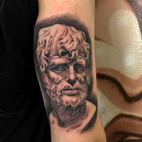 Seneca Tattoo Best Stoicism Tattoo Ideas