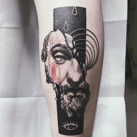 Marcus Aurelius Tattoo Best Stoicism Tattoo Ideas