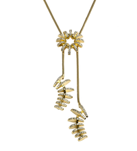 Load image into Gallery viewer, Overflow, chain necklace.